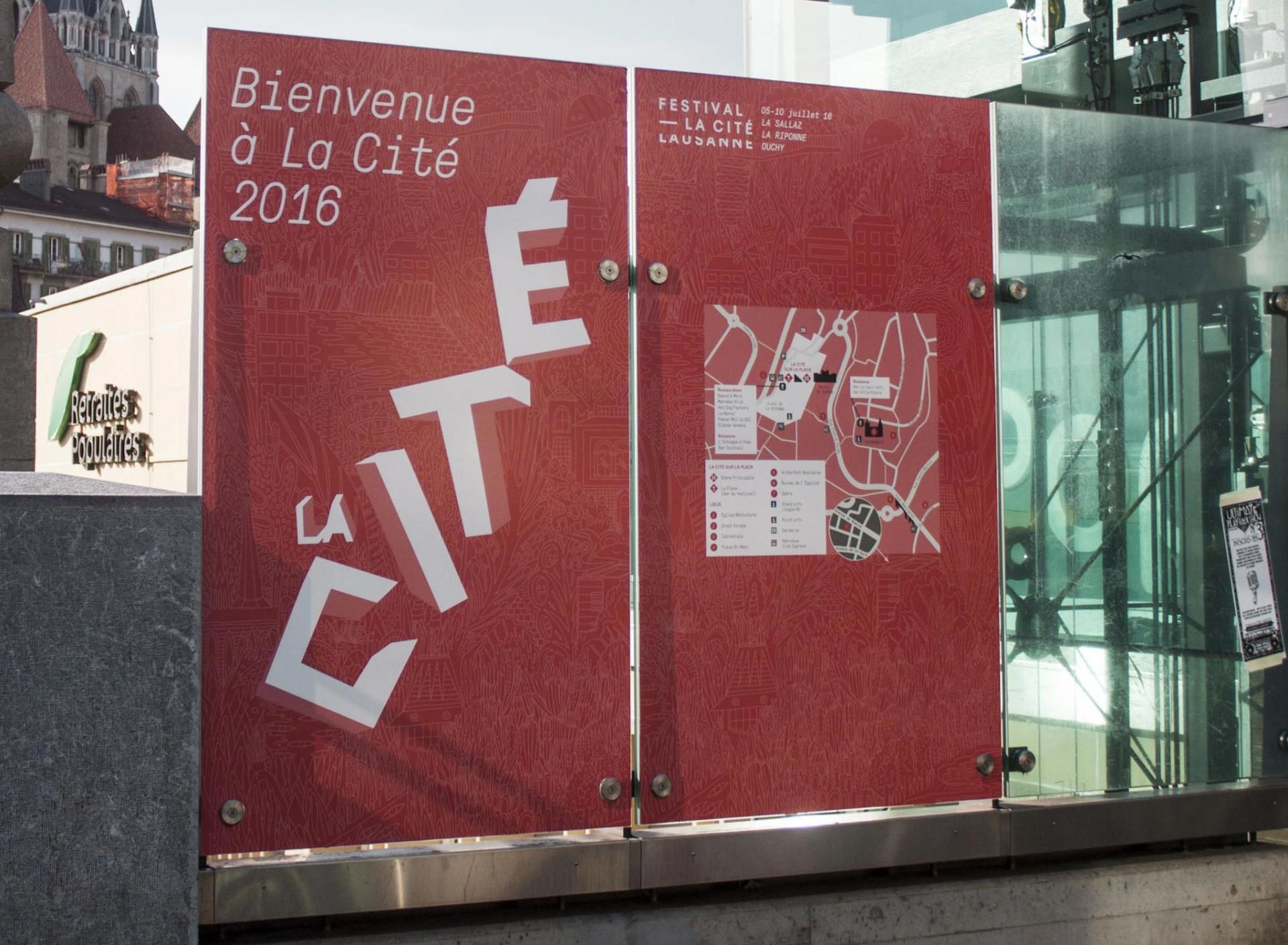 FICHTRE STUDIO - Mathias Forbach FESTIVAL DE LA CITÉ: AFFICHE & DIRECTION ARTISTIQUE