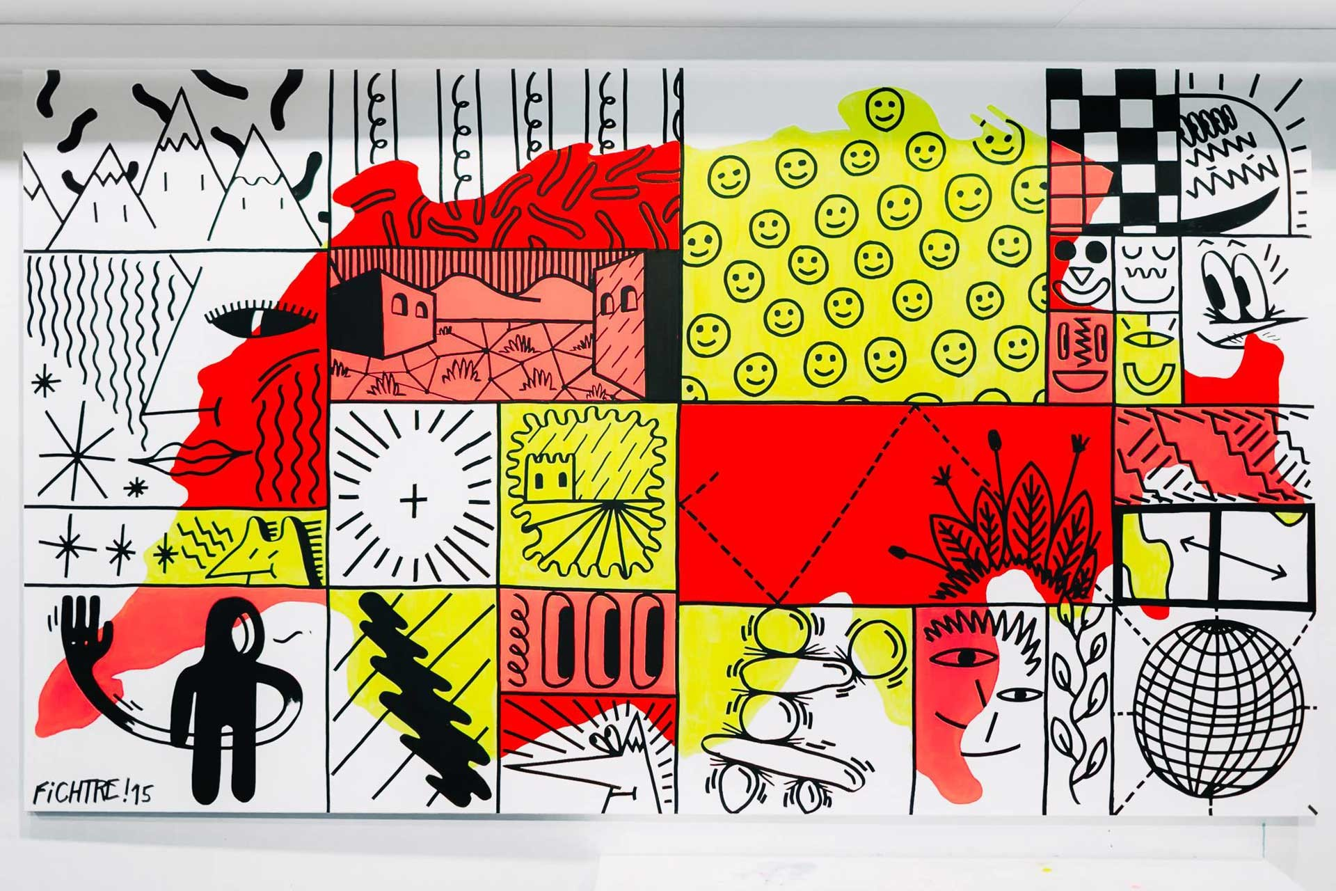 FICHTRE STUDIO - Mathias Forbach SWATCH LOVES ART